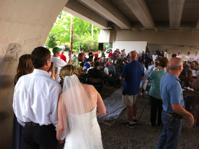 Bridge wedding 1